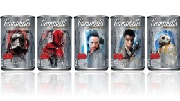 new star wars campbell soup cans