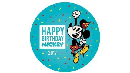mickey mouse's birthday 2017
