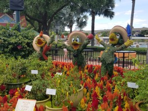 Epcot Flower and Garden Festival 2018 topiary