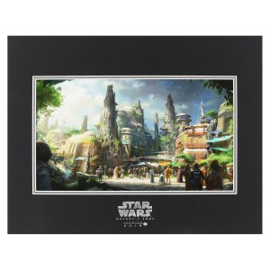 Star Wars Galaxy's Edge Deluxe Print