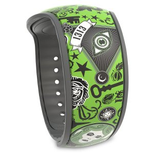 The Haunted Mansion Collage MagicBand 2