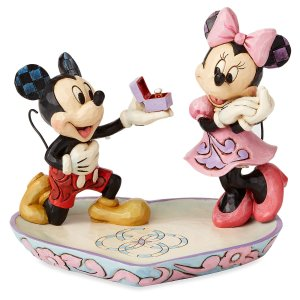 Mickey and Minnie Mouse Proposal Figure