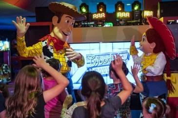 Pixar Play Zone at Disney World's Contemporary Resort