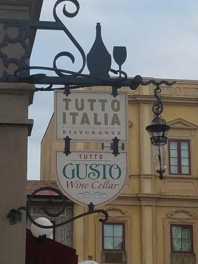 Tutto Italia Ristorante (Disney World)