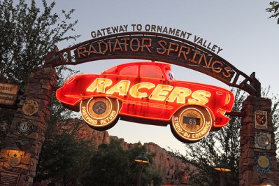 Radiator Springs Racers (Disney California Adventure)