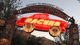 """Radiator Springs Racers"" is locked Radiator Springs Racers disneyland"
