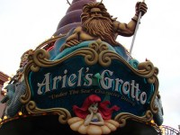 Ariel's Grotto - Extinct Disneyland Attractions