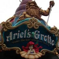 Ariel's Grotto - Extinct Disneyland Attractions