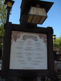 Wine Country Trattoria (Disneyland)