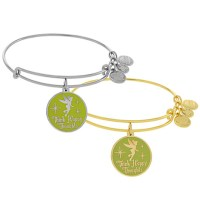 Tinker Bell Bangle by Alex and Ani (Green)