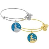Elsa Bangle by Alex and Ani (Blue) | Disney Jewelry