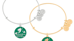 Ariel Bangle by Alex and Ani (green) | Disney Jewelry