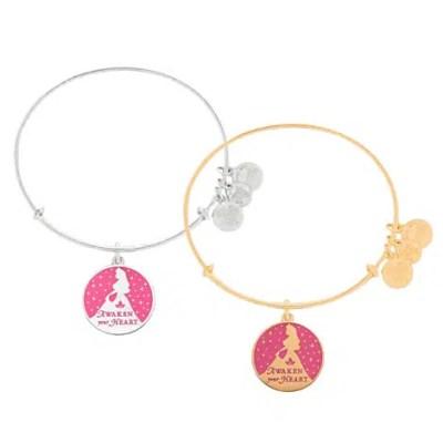 Aurora Bangle by Alex and Ani (pink) | Disney Jewelry