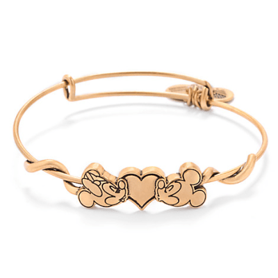 Mickey and Minnie Mouse Bangle by Alex and Ani | Disney Jewelry