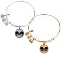 Mickey Mouse Cloisonne Charm Bangle by Alex and Ani | Disney Jewelry
