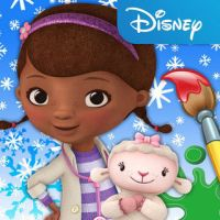 Doc McStuffins Color and Play Mobile App
