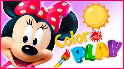 Disney Color and Play Mobile App