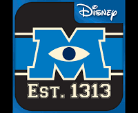 MU Scare 101 Mobile App (Monsters University)