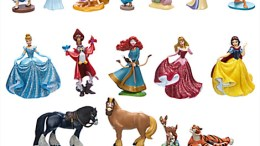 Disney Princess Figures 20 Piece Play Set