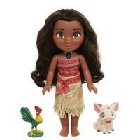 Disney Singing Moana, Pua, Heihei Toy Doll Set