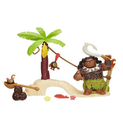 Disney Moana Maui the Demigod's Kakamora Adventure Playset