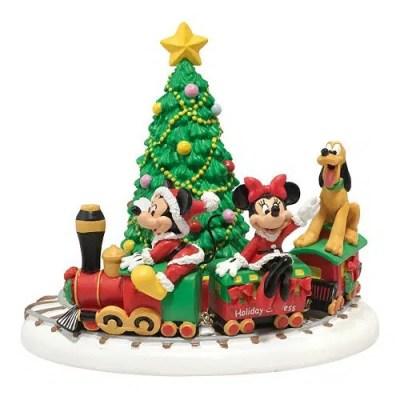 Disney Village Mickey's Holiday Express Christmas Decoration