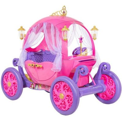 Life-Sized Powered Disney Princess Carriage
