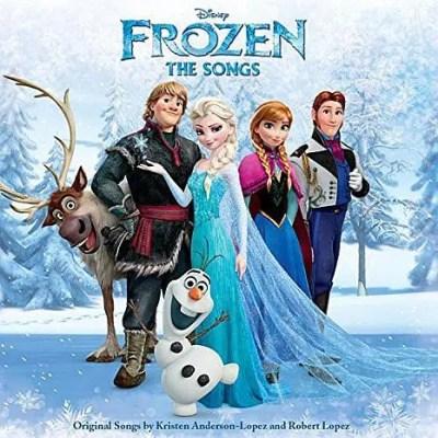 Frozen The Songs CD