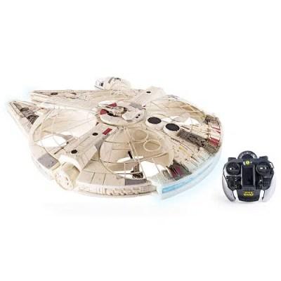 Star Wars Remote Control Millennium Falcon Flying Drone