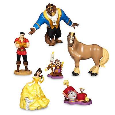 Beauty and the Beast Action Figure Playset (6-pc)