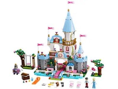 Disney Cinderella's Romantic Castle LEGO Set