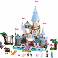 Disney Cinderella's Romantic Castle LEGO Set