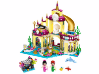 Disney The Little Mermaid Ariel's Undersea Palace LEGO Set