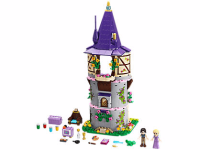 Disney Tangled Rapunzel's Creativity Tower LEGO Set