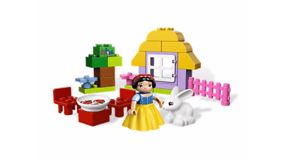Disney Snow White's Cottage LEGO Set