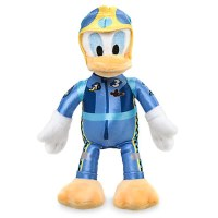 Donald Duck Plush Stuffed Animal - Mickey and the Roadster Racers
