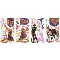 Tangled Peel & Stick Wall Decals (Rapunzel, Maximus, Eugene)