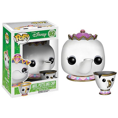 Mrs. Potts and Chip Funko Pop! Vinyl Figure (Beauty and the Beast)
