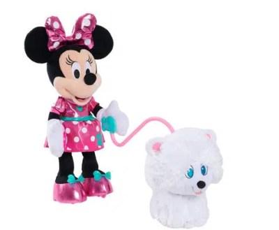 Disney Minnie's Walk & Play Puppy Toy