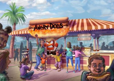 Angry Dogs (Disney California Adventure)