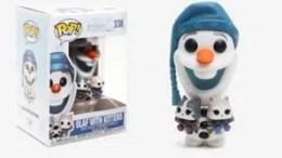 Disney Olaf's Frozen Adventure Olaf With Kittens Vinyl Figure Funko Pop!