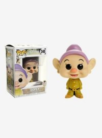 Disney Snow White And The Seven Dwarfs Dopey Vinyl Figure Funko Pop!