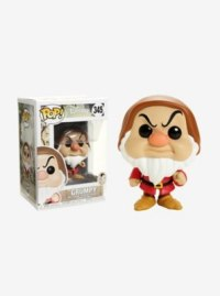 Disney Snow White And The Seven Dwarfs Grumpy Vinyl Figure Funko Pop!