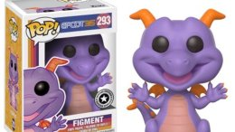 Figment fukno pop Epcot 35th Anniversary