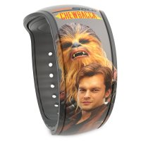 Han Solo and Chewbacca MagicBand 2 – Solo: A Star Wars Story