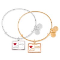 Mickey & Minnie Postcard Alex and Ani Bangle