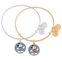 Mickey Mouse Heart Shorts Alex and Ani Bangle