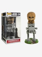 Star Wars Chewbacca With AT-ST Vinyl Funko Pop!