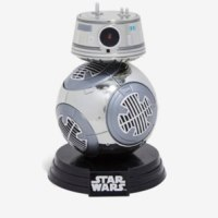 Star Wars: The Last Jedi Chrome BB-9E Vinyl Funko Pop!