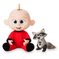 Jack-Jack Talking Action Figure with Raccoon | Incredibles 2 Toys
